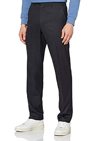 FIND Marchio Amazon - Hem & Seam Pantaloni Formali Slim Fit Uomo, , 36W / 31L, Label: 36W / 31L