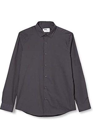 FIND 2 Pack Slim Shirt, Camicia formale Uomo, , 39 cm, Label: M