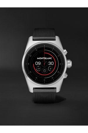 Mont Blanc Uomo Orologi - Summit Lite 43mm Aluminium and Nylon Smart Watch, Ref. No. 128410