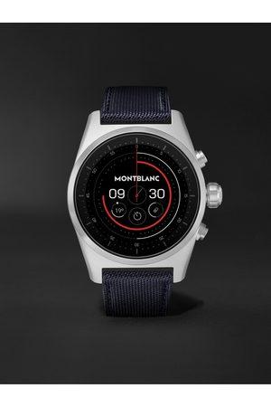 Mont Blanc Uomo Orologi - Summit Lite 43mm Aluminium and Nylon Smart Watch, Ref. No. 128411