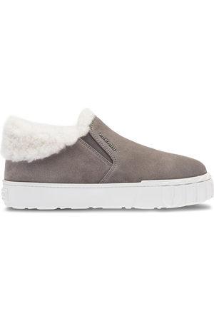 Miu Miu Sneakers senza lacci con profilo a contrasto
