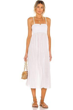 ACACIA Bonnie Cotton Dress in - . Size L (also in XS, S, M).