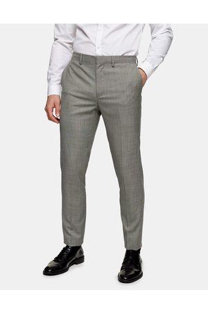 Topman Pantaloni da abito skinny grigi