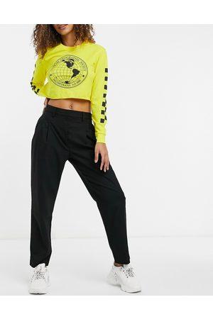 Monki Tyra - Pantaloni sartoriali neri