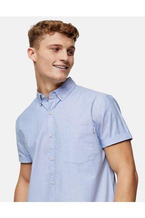 Topman Camicia Oxford slim azzurra