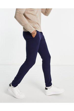ASOS Pantaloni super skinny eleganti in navy