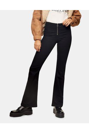 Topshop Jeans bootcut neri
