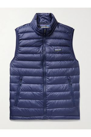 Patagonia Uomo Outdoor jackets - Slim-Fit Quilted DWR-Coated Recycled Ripstop Down Gilet