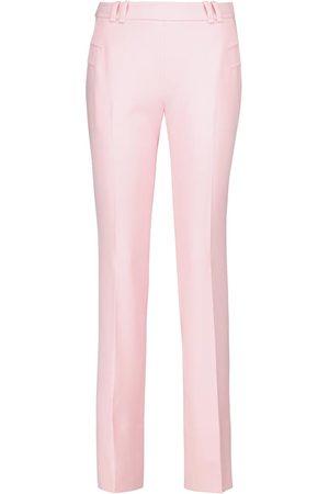 Roland Mouret Donna Slim & Skinny - Pantaloni slim Dall in crêpe