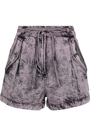 ULLA JOHNSON Donna Pantaloncini - Shorts di jeans Alec