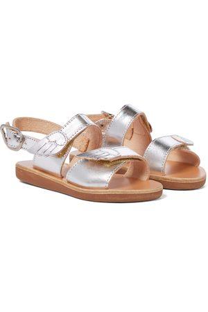 Ancient Greek Sandals Kids Sandali Little Iliada Soft in pelle