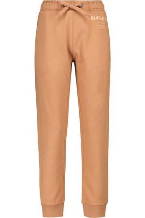 Burberry Pantaloni sportivi in jersey di cotone