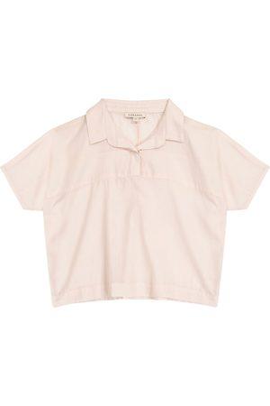 Caramel Blusa Tetra in cotone