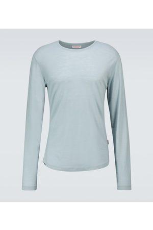Orlebar Brown T-shirt OB-T in lana merino
