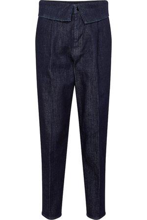 J Brand Donna Jeans a vita alta - Jeans slim Fold Over a vita alta