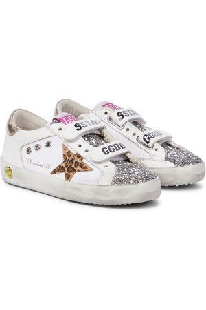 Golden Goose Kids Sneakers Old School in pelle