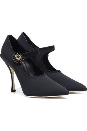 Dolce & Gabbana Pumps Mary Jane in tessuto