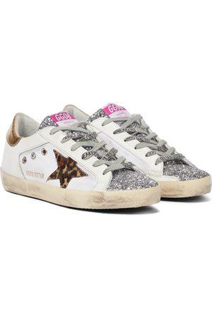 Golden Goose Donna Sneakers - Sneakers Superstar in pelle con glitter