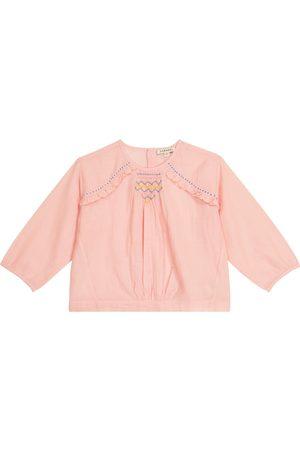 Caramel Bambina Bluse - Blusa Krill in misto cotone
