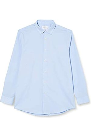 FIND Marchio Amazon - Camicia a Quadri Regular Fit Uomo, Pacco da 2, , 43 cm, Label: XXL