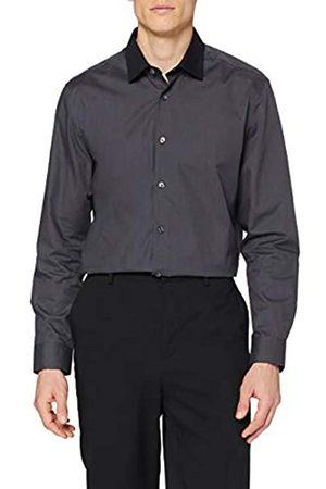 FIND Marchio Amazon - Camicia a Quadri Regular Fit Uomo, Pacco da 2, , 42 cm, Label: XL