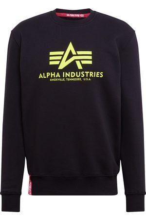Alpha Industries Felpa 'Basic Sweater Neon Print