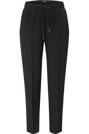 Bruuns Bazaar Donna Slim & Skinny - Pantaloni con piega frontale 'Ruby