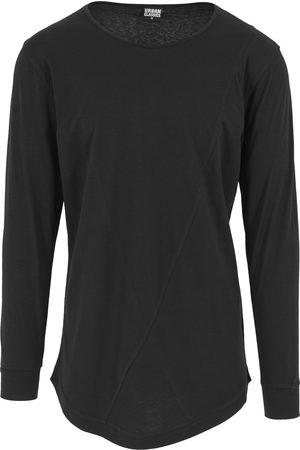 Urban classics Uomo T-shirt a maniche lunghe - Maglietta