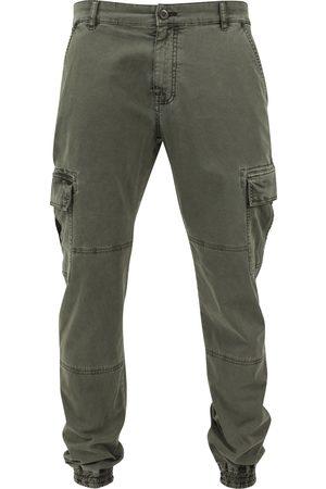 Urban classics Pantaloni cargo oliva
