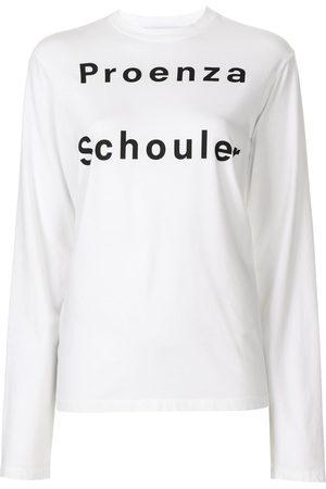 Proenza Schouler White Label Donna T-shirt a maniche lunghe - T-shirt a maniche lunghe