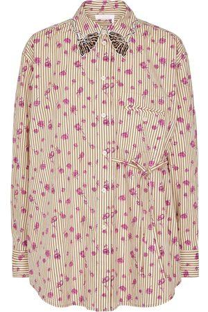 Chloé Camicia a righe in cotone