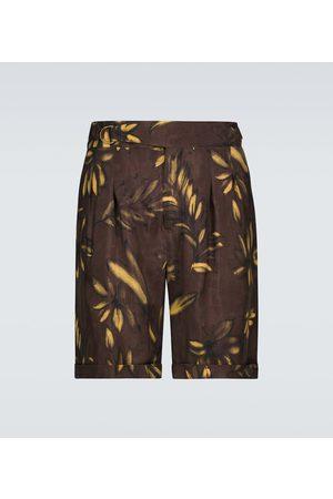 Nanushka Shorts Nagi in cupro
