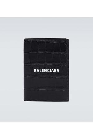 Balenciaga Portafoglio in pelle con logo