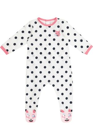 The Marc Jacobs Baby - Tutina a pois in cotone