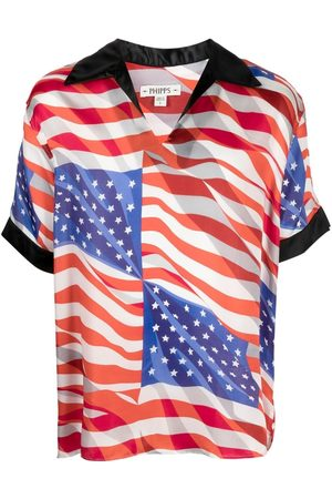 Phipps T-shirt con stampa American flag