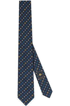 Gucci Cravatta con motivo GG