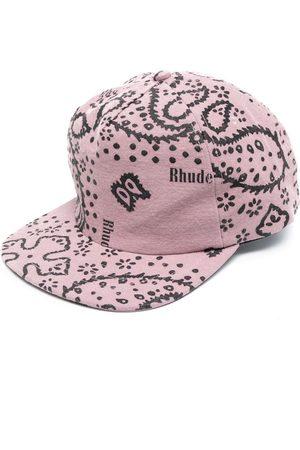 Rhude Cappello da baseball con stampa paisley