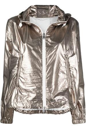 Moncler Giacca Eschamali con cappuccio - Effetto metallizzato