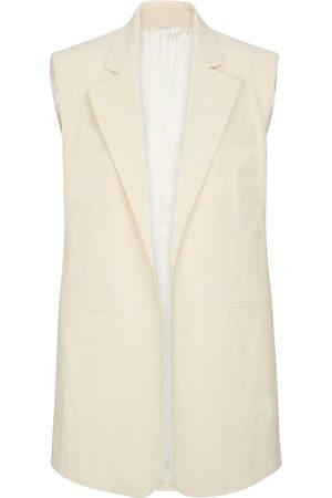 Peter Do Gilet in cotone stretch