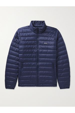 Patagonia Quilted DWR-Coated Recycled Ripstop Down Jacket