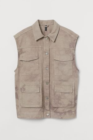 H&M Gilet in twill