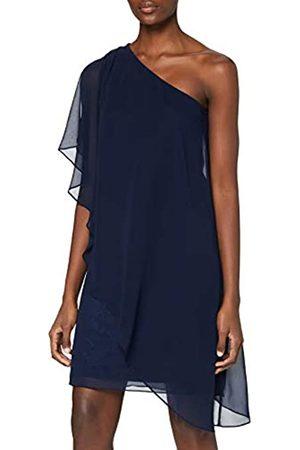 Swing Bluse- Chiffon Uni Vestito Donna, , 32