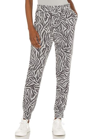 1. STATE Chic Zebra Jogger in - Grey. Size L (also in XXS, XS, S, M, XL).