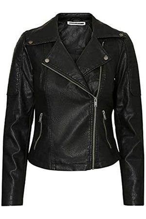Name it NMREBEL L/S Jacket-Noos Giacca, Nero , 44 Donna