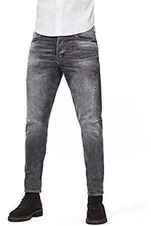 G-Star Scutar 3D Slim Tapered Jeans, Grigio , 38W / 34L Uomo