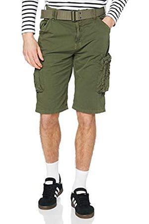 Schott NYC NYC Trranger30 Pantaloncini da Bagno, Verde , W33 Uomo