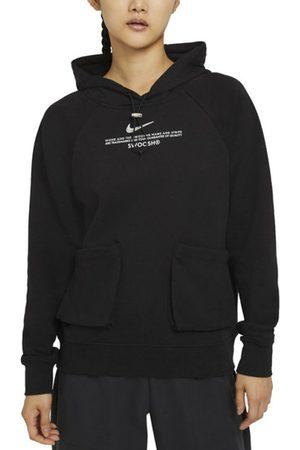 Nike Donna Felpe - Sportswear Swoosh French Terry Hoodie - felpa con cappuccio - donna