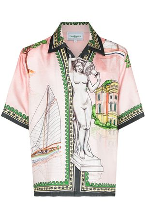 Casablanca Uomo Loungewear - Camicia Lago de Casa x Browns 50