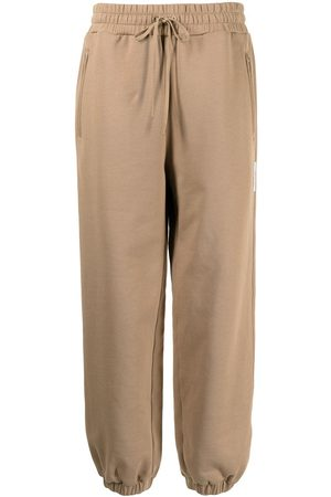 3.1 Phillip Lim Donna Pantaloni sportivi - Drawstring-waist track pants - Toni neutri
