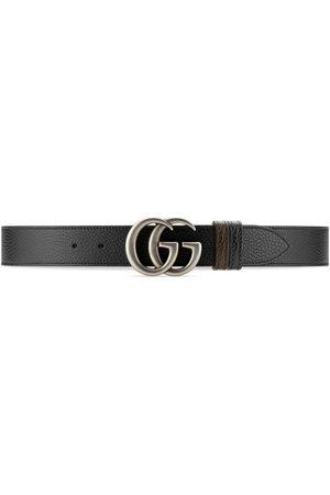 Gucci Cintura GG Marmont reversibile - Toni neutri
